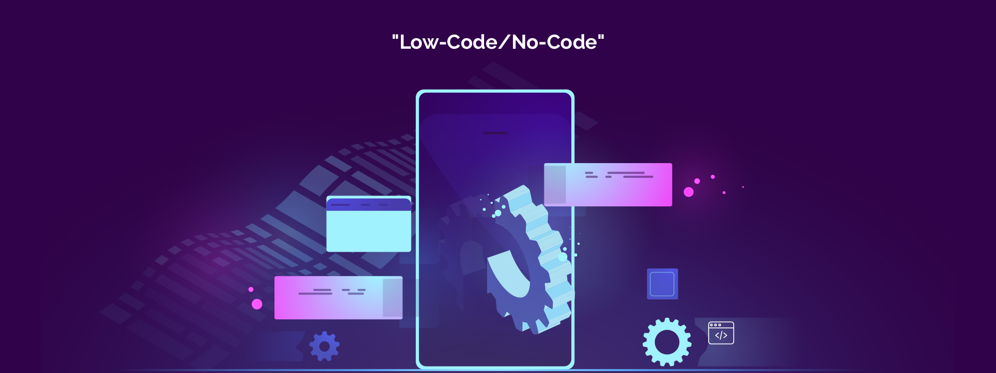 How can enterprises benefit from  Low-Code/No Code development method